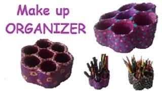 MAKE UP or pencil organizer tutorial