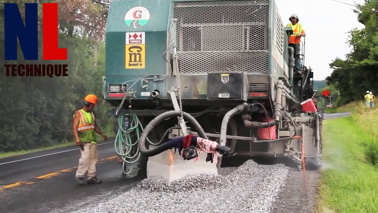 Amazing Modern Road Construction Machines Technology