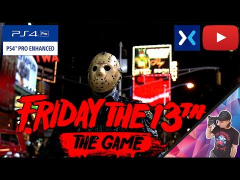 Friday the 13th : The Game | PS4 Pro |🕺😠🔪