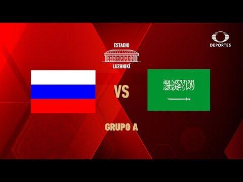 Previo: Rusia Vs Arabia Saudita, Se Abre El Telón | Mundial Rusia 2018 | Televisa Deportes