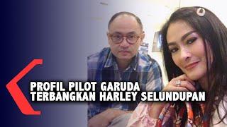 Angkut Harley, Ini Profil Pilot Garuda Satrio Dewandono Suami Iis Dahlia