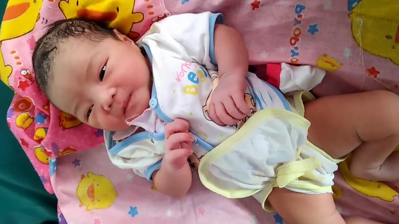 Dede Bayi Baru Lahir Lucu Youtube
