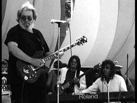 Jerry Garcia, Nick Gravenites, Pete Sears, and Animal Mind.  4-29-90 SFran, CA