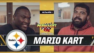 Mario Kart Challenge: Cameron Heyward vs. Stephon Tuitt   Pittsburgh Steelers
