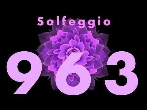 963 hz Solfeggio Frequency Crown Chakra Music For Activation, Meditation & Sleep