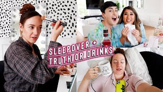 sleepover @ remi's' + truth or drink collabs
