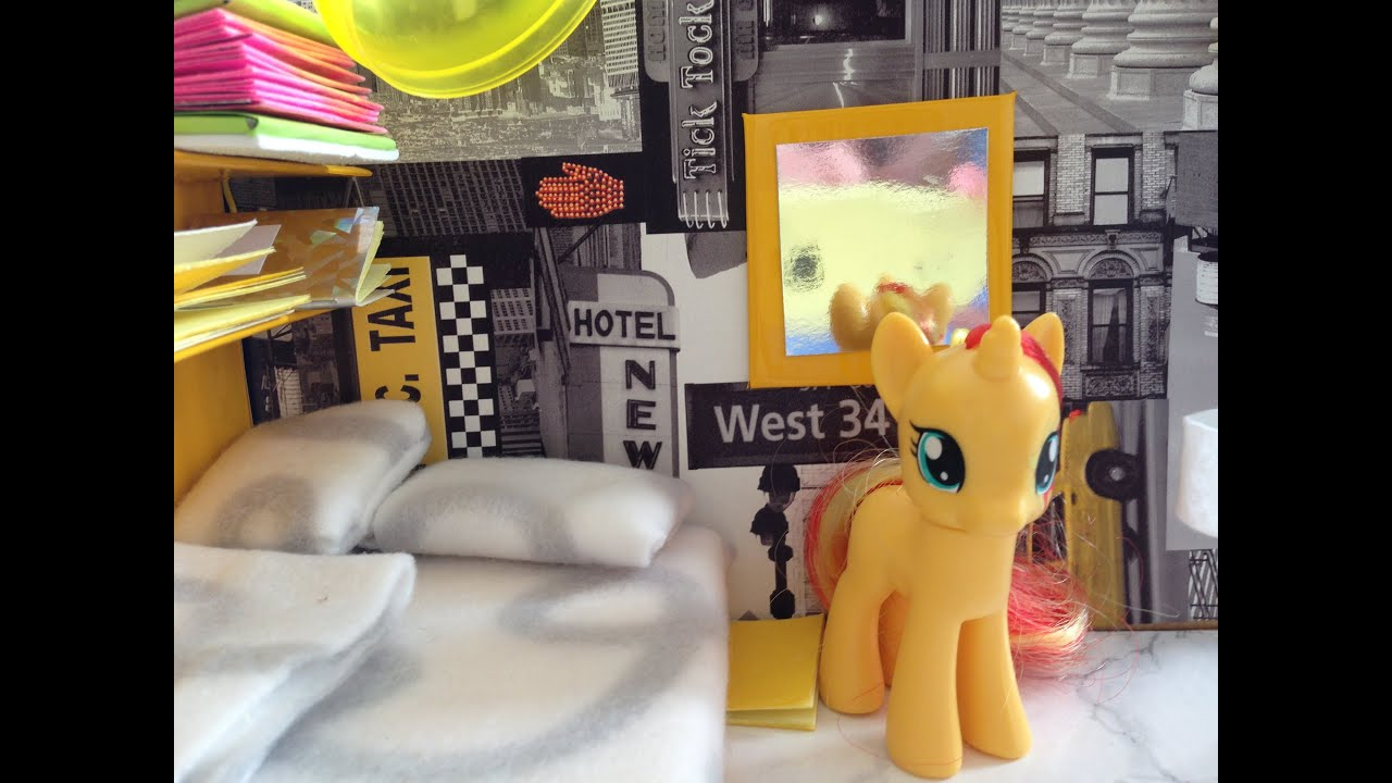 DIY My Little Pony Room