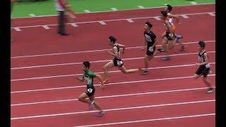 スーパー小学生、服部蓮太郎が大会新!! 室内陸上 小学男子60m決勝 (7秒38)  2019.2.3