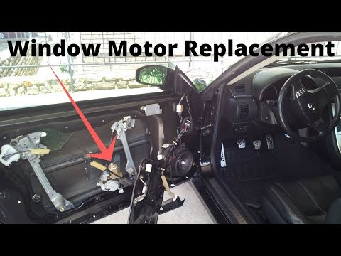 Infiniti G35 – Window Motor Replacement