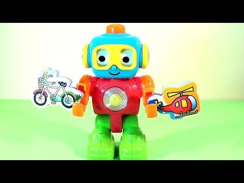 Старый мультфильм про круглых роботов