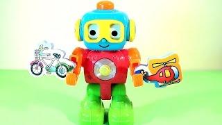 Мультфильм - Развивающий Робот Q