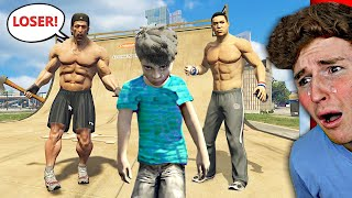 i got BULLIED in GTA 5 as a kid.. (SAD)