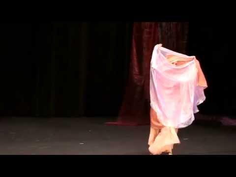 Jacynthe - Danse orientale Double voile, Bauchtanz Doppel Schleier, Bellydance Double Veil