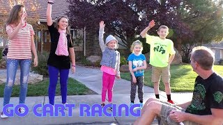 Thanksgiving Special! Go-Cart Hoverboard Racing With Cousins!