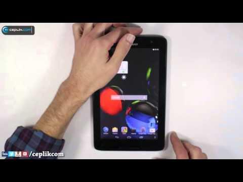 Lenovo A8 Tabletlerde Ekran Görüntüsü Nasıl Alınır?