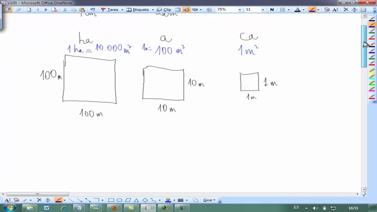 Unidades De Area Hectareas Matematicas 6 Primaria Ainte Youtube