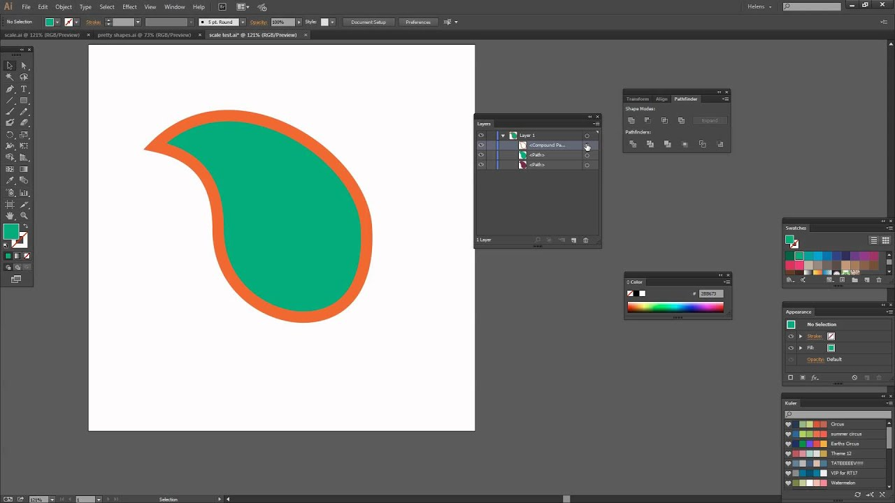 430146f7084a Perfectly Scale a Shape in Illustrator - Size shapes up and down ...