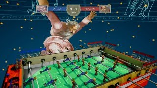 The most realistic depiction of foosball in a video game