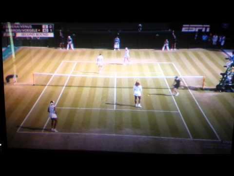 Serena Williams disoriented at Wimbledon 2014