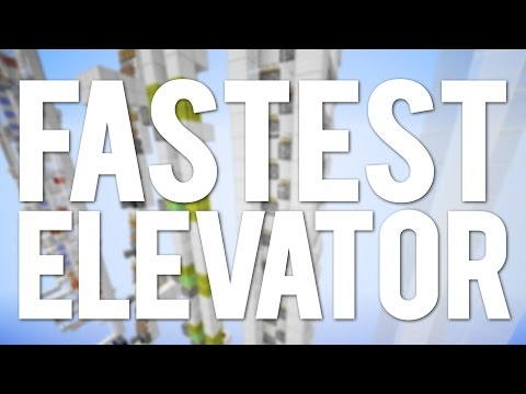 how to make an elevator with ladder on minecraft
