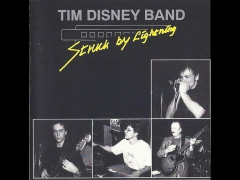 1993 Tim Disney Band - Struck by Lightning (CD with Lyrics)