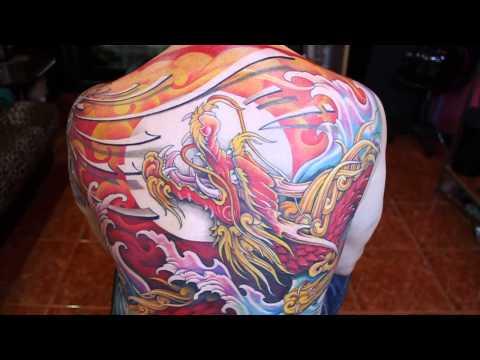 Tattoo(สักลายมังกร) By Neung สักโดย ช่างหนึ่ง