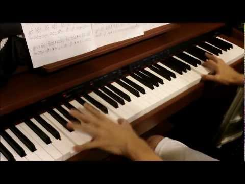 Love theme from spartacus ♯piano INO hidefumi の耳コピ