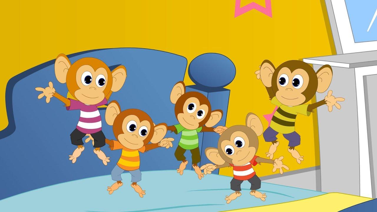 Five Little Monkeys Kids
