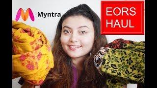 MYNTRA EORS SALE HAUL 2019   MYNTRA KURTI/MAXI DRESS HAUL   Deblina Rababi