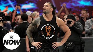 Roman Reigns receives heartwarming messages after big announcement: WWE Now
