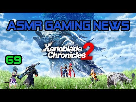 ASMR Gaming News (69) Xenoblade Chronicles 2, Devil May Cry 5, Mario Cereal, Nintendo Direct + More!