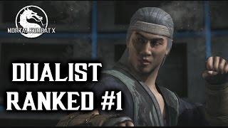 Mortal Kombat X Dualist Liu Kang Online Ranked Matches #1