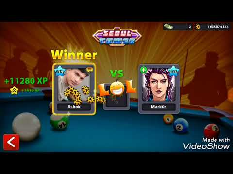 8 Ball Pool_World' Best🤣 11😉Bang- Shot -Continue 😋11😯Match  Wining_😨Seoul Tower xxx Awesome