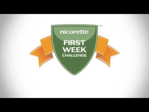 Stop Smoking | First Week Challenge | Nicorette®