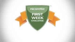 Stop Smoking   First Week Challenge   Nicorette®