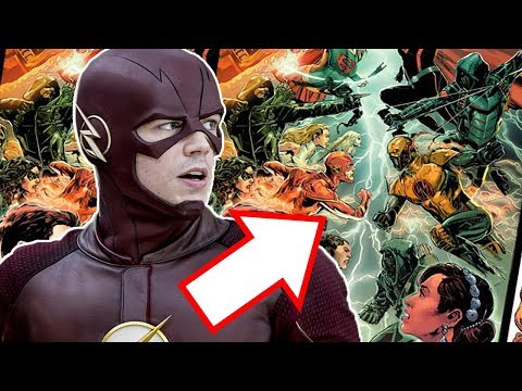 What is Earth-X? Crossover Story Explained! - The Flash Season 4