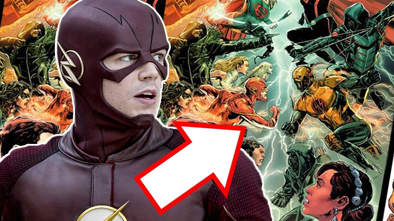What Is Earth X Crossover Story Explained The Flash Season 4 Youtube