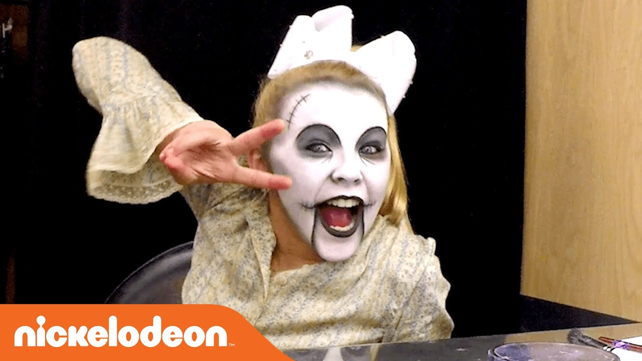 happy halloween bts w jojo siwa her spooky transformation nick youtube