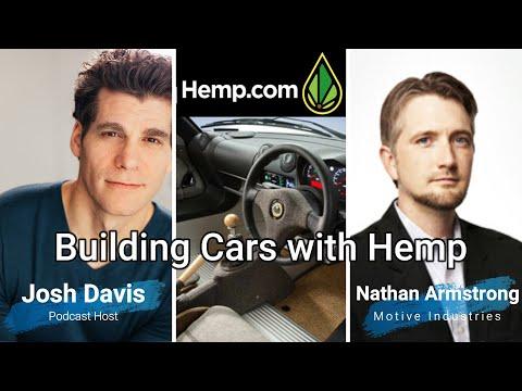 Hemp Cars Building with hemp composite materials- podcast episode 2 From Hemp.com Inc