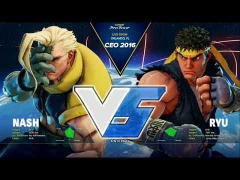 ♛ CEO 2016 - Street Fighter V - Top 32 to Top 8 - Timestamps - HD 720p 60FPS