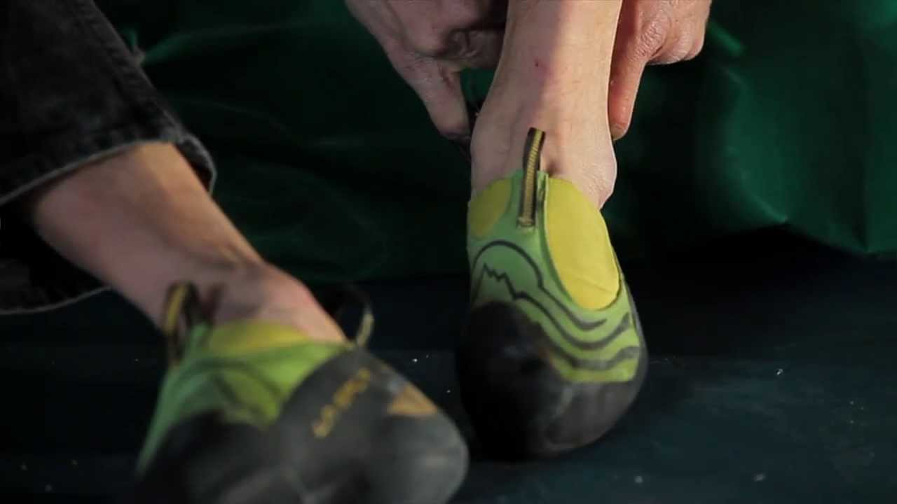 how to make climbing shoes sticky again