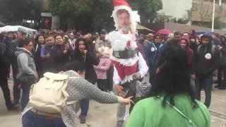 Megaplantón de maestros en Mexicali