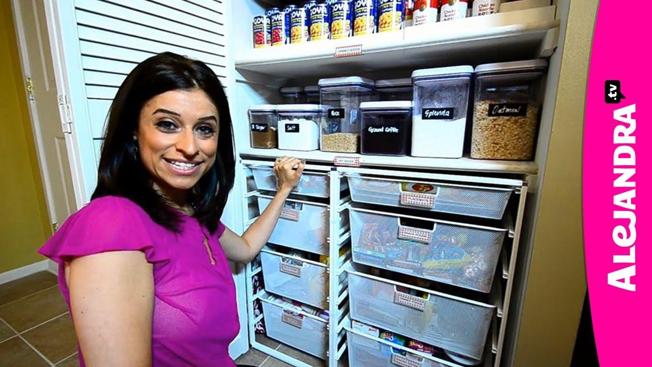 Most Organized Home in America Part 1 by Professional Organizer u0026 Expert Alejandra Costello