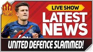 Sky Sports Pundit Slams Maguire! Man Utd News
