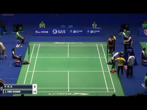 2016 China Masters   H  S  Prannoy vs Soong Joo Ven