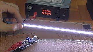 Переделка светильника с люминесцентной лампы на светодиоды