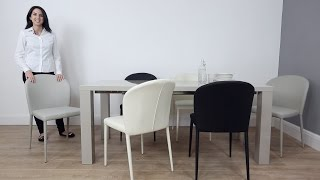 Italian Design Inspired Dining Chairs