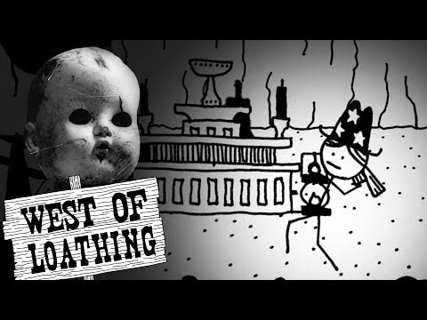 CREEPY DOLLS.... YAY, LUCKY ME!!   West of Loathing Part 6