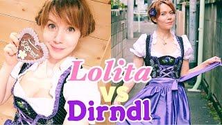 LOLITA VS DIRNDL ☆ German Traditional Dress meets Japanese Fashion
