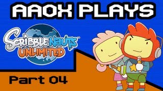 Aaox plays Scribblenauts Unlimited - Part 04 - In Which a Gravitational Singularity Ruins a Carnival